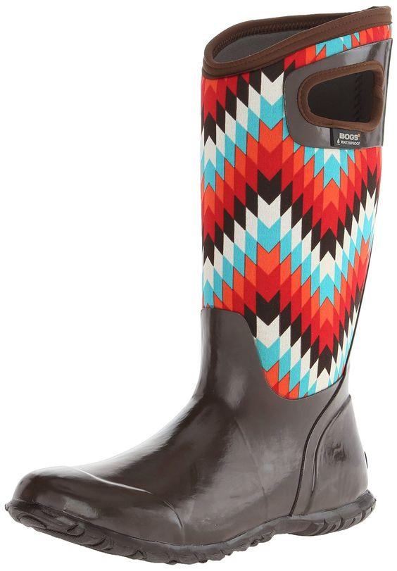 Bogs Women's North Hampton Native Waterproof Insulated Boot | Amazon.com