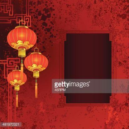 chinese lantern paintings - Google Search