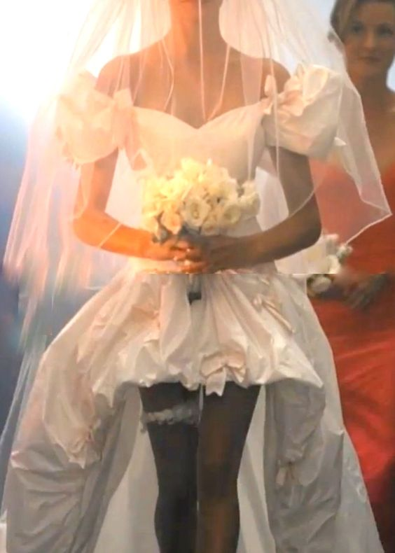 Tonya this was my dream dress way back in the day.  And it was the best video.November Rain Wedding Dress