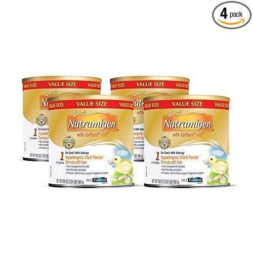 Enfamil Nutramigen Infant Formula Hypoallergenic Lactose Free Formula With Enflora Lgg Powder Can 19 Baby Formula Lactose Free Formula Lactose Free Milk