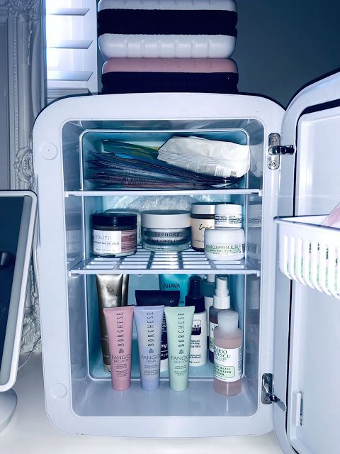 This Cooluli Mini Skincare Fridge On Pagingmrsgehrels Blogspot Com Is Perfect To Keep Skincare Cool It Helps Depuff The Skin Skin Care Skin Natural Hair Mask