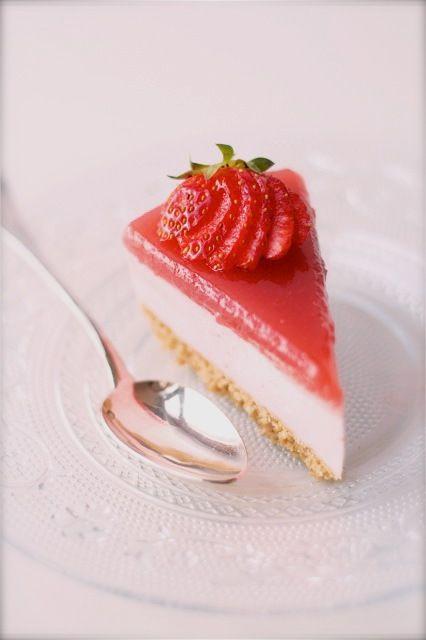 cheesecake_fragola2 ♥ Dessert