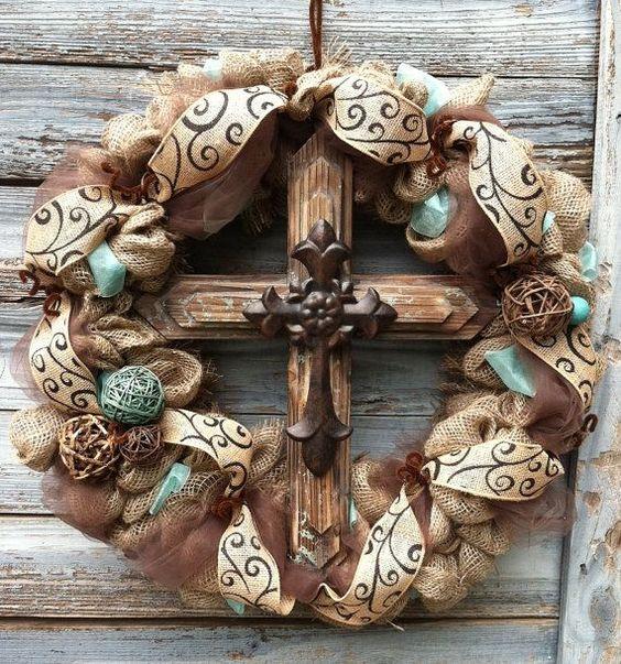 Rustic Western Inspired Cross
