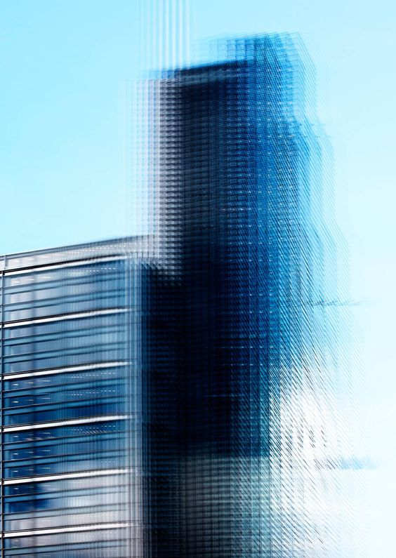 London Buildings Fractal Photography – Fubiz Media