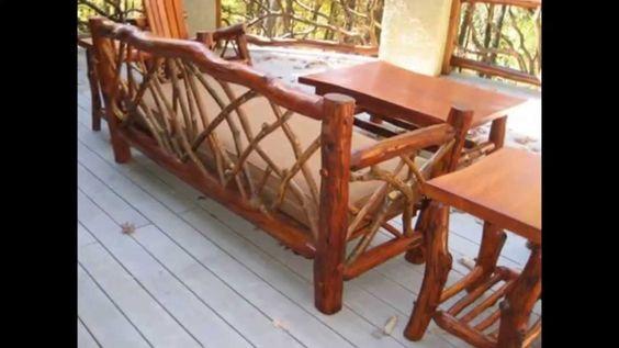 Amish Rustic Furniture   Briar Hill Rustic Furniture   Alvin Rustic Furn...