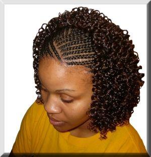 Astonishing Black Hair Braids Curls And Girl Hair On Pinterest Hairstyles For Women Draintrainus
