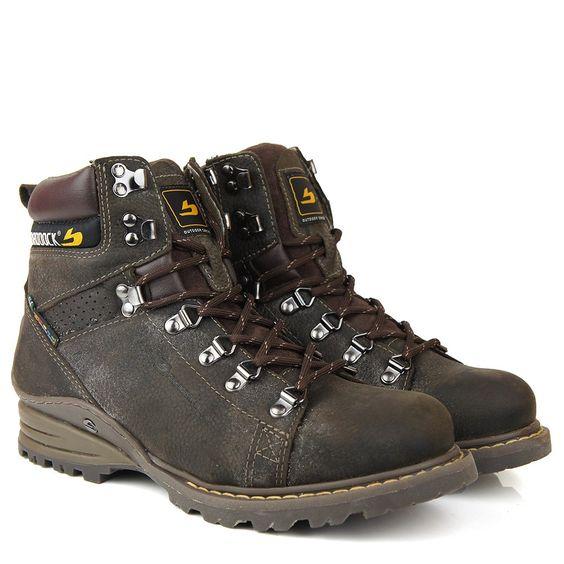 Black Boots - Bota Braddock Montana 6822 Marrom - BlackBoots