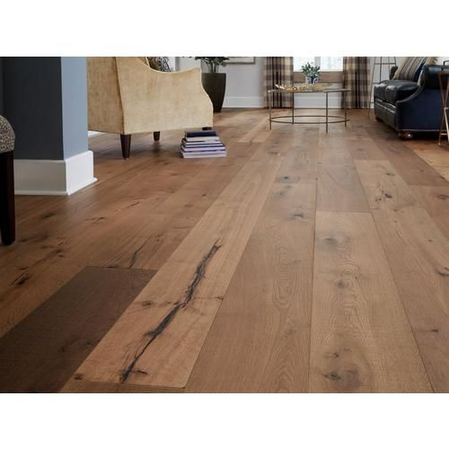 Mustang White Oak Distressed Engineered Hardwood Xl Plank Wood Floors Wide Plank Wide Plank Hardwood Floors Hardwood Floor Colors