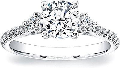 Coast Diamond 3-Stone Diamond Engagement Ring LC5262