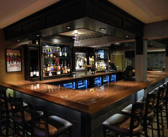 """I used the Light 36 Gauge Enchantment copper on a commercial bar top and was very pleased with the results. It was easy to apply and with the reassuring help from Color Copper's customer service, the two part epoxy was fool proof."" /  Mark Baker  Panther Pub - Panther Valley, New Jersey:"