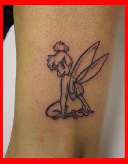 tattoos: campanilla Lele