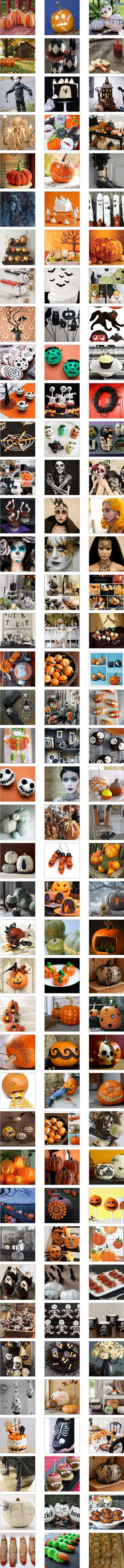Halloween Ideas – Decorations, Party, Table, Food… http://findinspirations.com/2012/09/halloween-ideas-decorations-party-table-food/