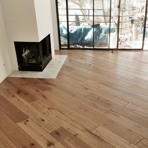 Diagonal Wood Floor