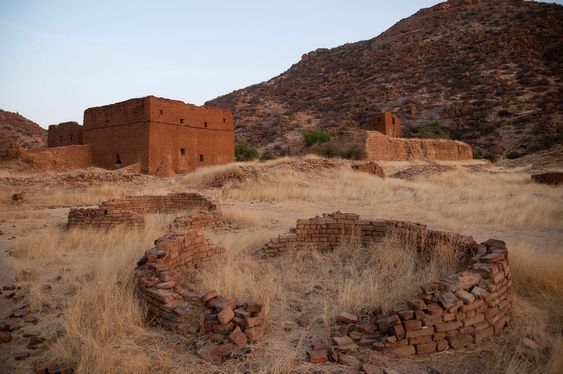 Ouara, capital of the Wadai kingdom in Chad, abandoned in the 19th century.