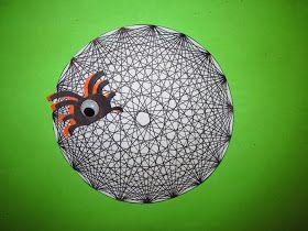 Runde's Room: Spooky Spiral Spiderwebs