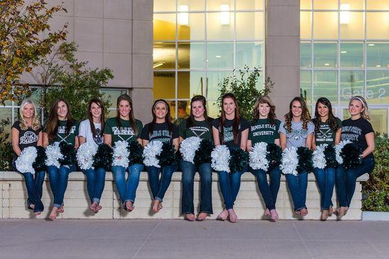 BSU Hockey Cheer Squad 2013-2014