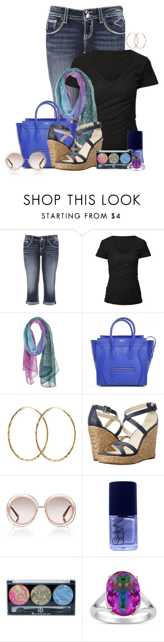 """""""Jenny"""" by lulurose98 ❤ liked on Polyvore featuring maurices, James Perse, Pernille Corydon, Gabriella Rocha, Chloé, NARS Cosmetics, Rainbow, women's clothing, women and female"""