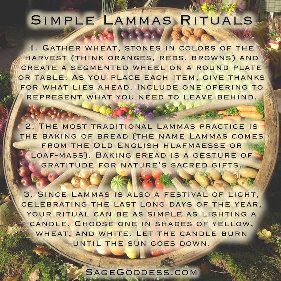 Simple Lammas Rituals – Witches Of The Craft®