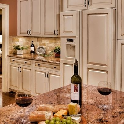 White cabinets granite cabinets diet coke pure white new kitchen