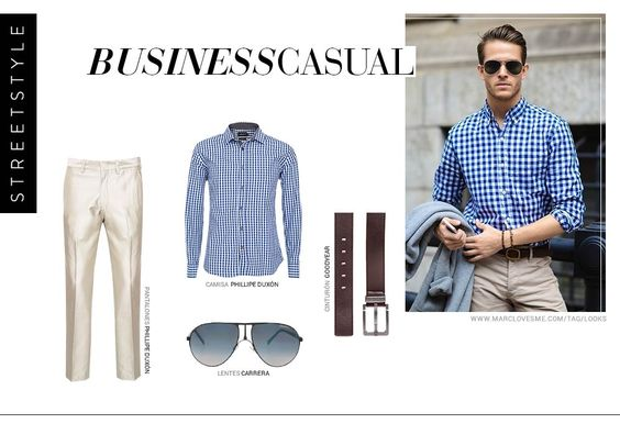 Para el look business casual que buscabas #dafiti #mexico #business #casual #cool #style #men