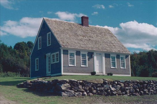 This small cape cod house adheres to the original style as for Small cape cod house