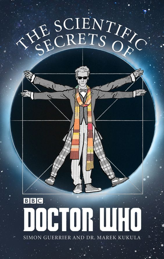 I utterly adore Martin Geraghty's cover for the paperback of The Scientific Secrets of Doctor Who, out in July from BBC Books.