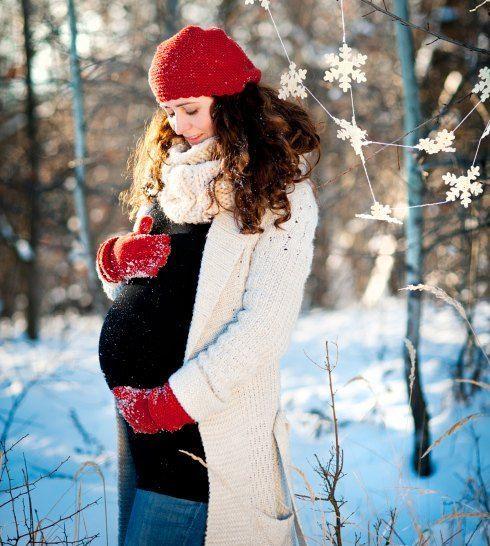 dicke schwangere babybauch