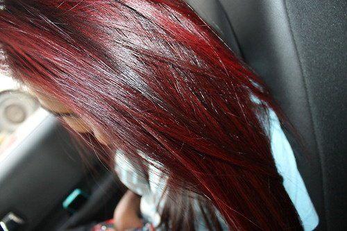 couleur de cheveux framboise