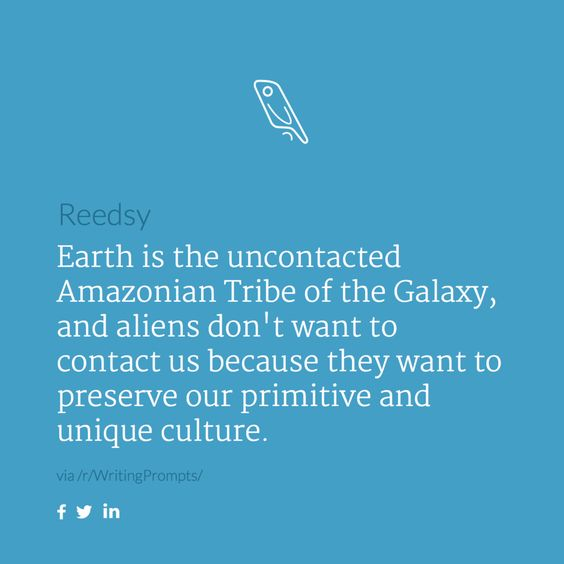 #reedsyprompt #writing #inspiration #selfpublish  Send your short stories to prompts@reedsy.com for a chance to be a published author on our blog! We post the best one every Saturday.