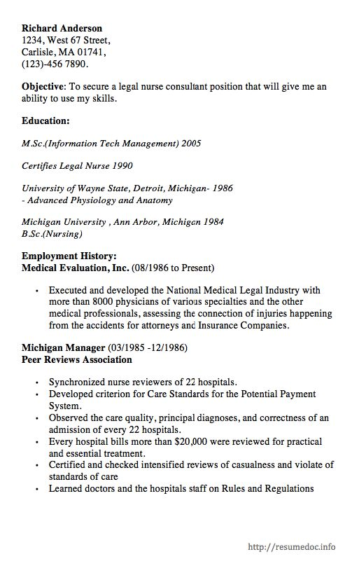 Here Is The Free Example Of Legal Nurse Consultant Resume You Can Preview It Here Or Can Downloa Nursing Resume Legal Nurse Consultant Nursing Resume Template