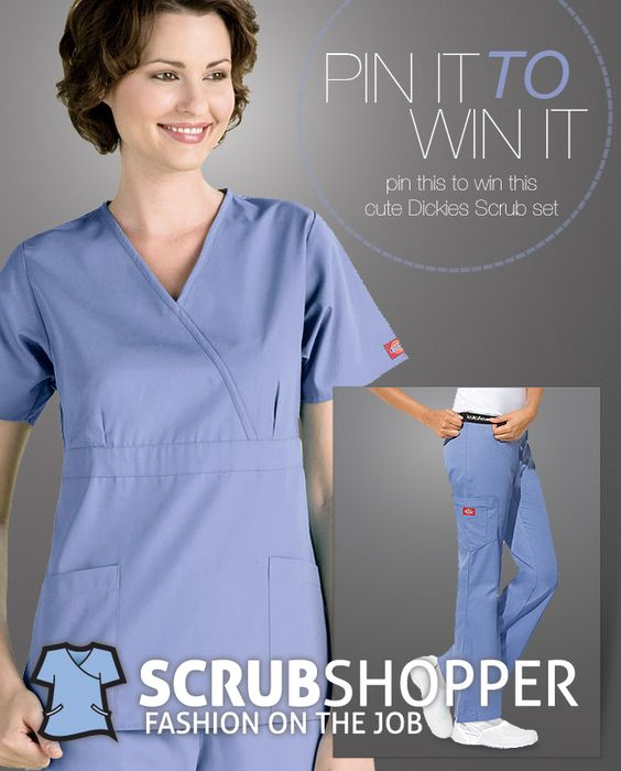 BIG CONGRATS to @Barbianne Davis! You're our winner of the Dickies scrubs. Please email stephanie@scrubshopper.com so she can get these sent out to you right away.