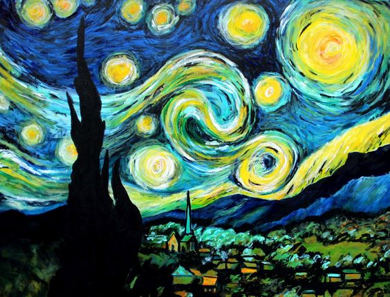 """an analysis of styles patterns and colors in a starry night by vincent van gogh Algorithm clones artists' styles, turning videos into living paintings  in the  post-impressionist painting style of vincent van gogh, or star wars in the  might  seem sacrilege –– van gogh didn't paint """"starry night"""" so it could later be  for  example, the first layers extract broad patterns, like color, while the."""