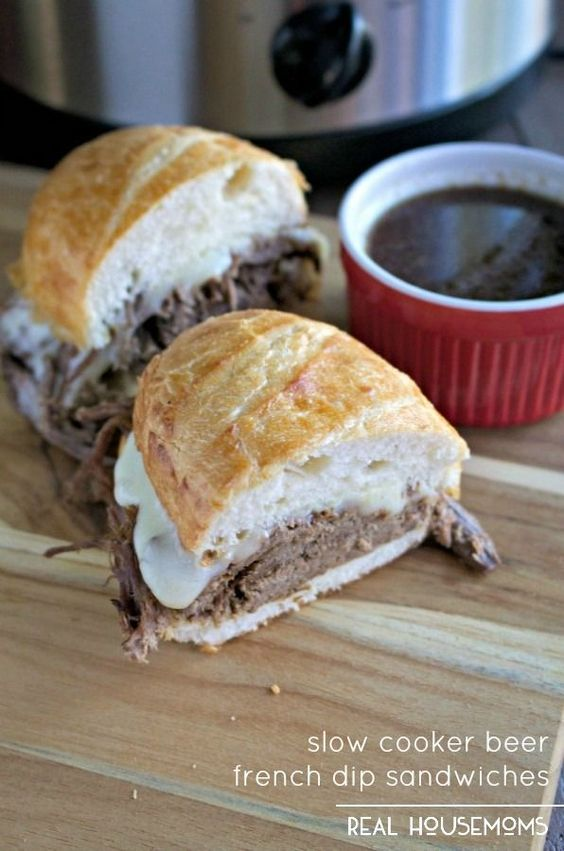 french dip french dip sandwiches beer dips french sandwiches dinner a ...
