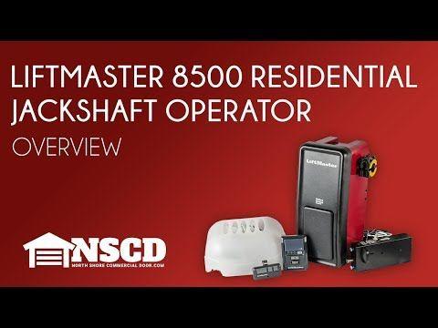 Buy The Liftmaster 8500 Wall Mount Garage Door Opener At North Shore Commercial Door S Garage Door Opener Liftmaster Garage Door Opener Garage Doors