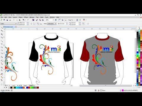 Cara Membuat Baju Kaos Distro Taman Mini Cara Desian Baju Taman Tmii Youtube Baju Kaos Kaos Membuat Baju