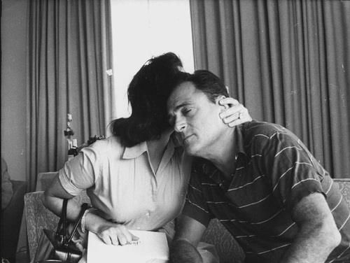 Liz Taylor and Mike Todd