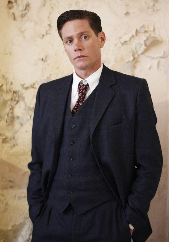 Detective Inspector Jack Robinson (Nathan Page) #MissFisher #PhryneFisher #JackRobinson #NathanPage #vintage #vintagefashion #mensfashion #style #1920s