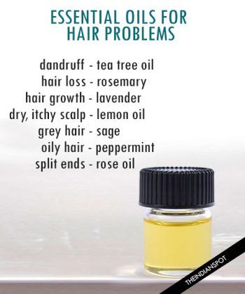 ESSENTIAL OILS FOR HEALTHY SCALP AND HAIR