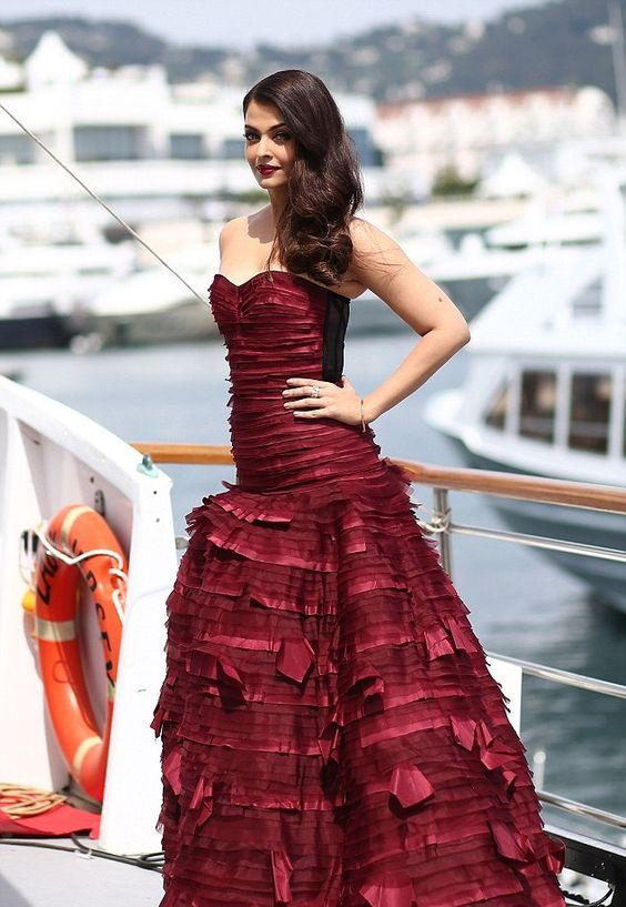 Aishwarya Rai stuns in red dress at Cannes Film Festival
