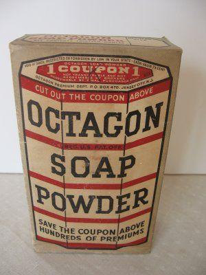 1930s Octagon Soap Powder $15.00