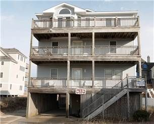 Spectacular oceanfront Hatteras Island vacation home with 6 bedrooms and 5.5 bathrooms. Unbelievable ocean views from all three levels! Luxurious ...