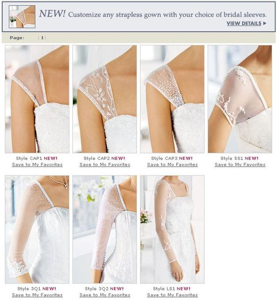 how do you sew modesty sleeves or straps on a prom dress? - Google Search                                                                                                                                                      More