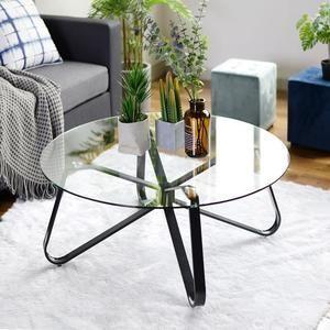 homy casa table basse ronde
