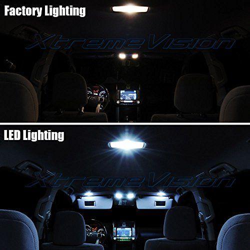 Jk Jeep Wrangler White Interior Led Light Kit Package With