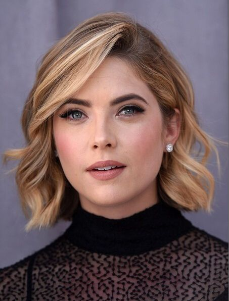 Short hairstyles can also look very formal and polished for women. They are great to create a fabulous office look. Girls should really feel lucky if born with thick, fine hair, as it will become much easier to create natural textures and movement on thick hair. It is great to style your short hair with …: