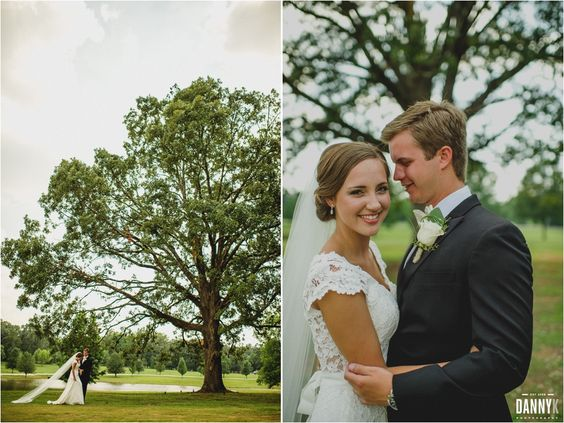 Wedding Photography Tupelo Ms: Bride And Groom's Portraits At The Antler Venue In Tupelo