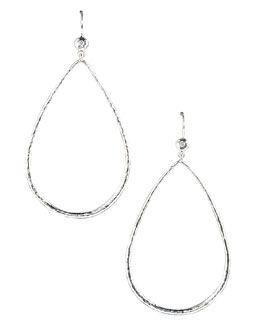 Y0DDF Ippolita Open Teardrop Earrings with Diamonds
