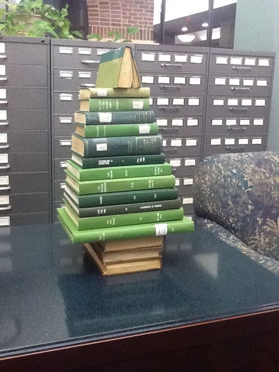 Miniature book tree                                                                                                                                                                                 More
