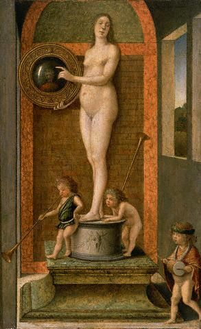Allegory of Prudence by Giovanni Bellini: