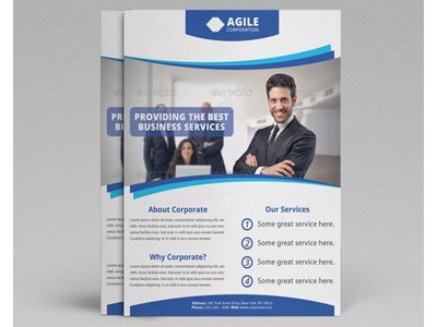 Corporate Flyer Templates  Google Search  Molde Para Folheto